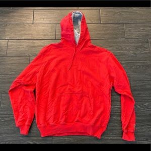 Champion Hoodie in Red Size XL